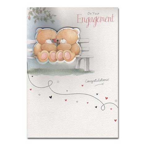 On Your Engagement Forever Friends Card
