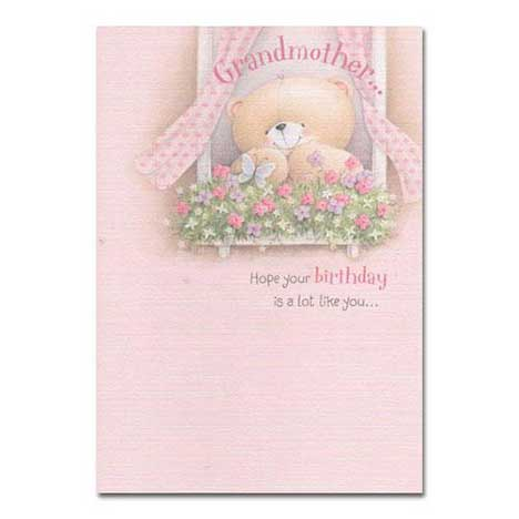 Grandmother Birthday Forever Friends Card