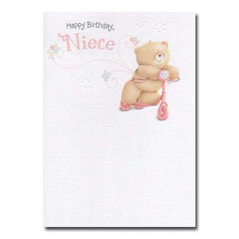 Niece Birthday Forever Friends Card
