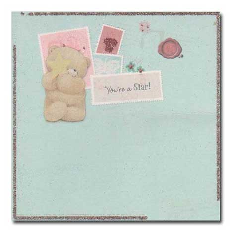 You're a star Vintage Birthday Forever Friends Card