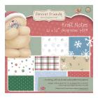 "12 x 12"" Designstax Forever Friends Christmas Kraft Notes"