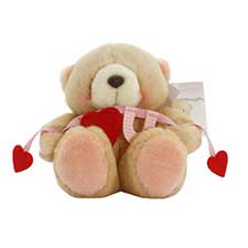 "6"" I Love You Banner Forever Friends Bear"