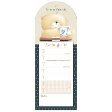 Forever Friends Week-to-View Magnetic Calendar 2019