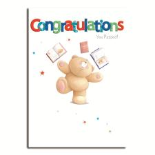 Exam Pass Congratulations Forever Friends Card