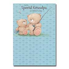 Special Grandpa Forever Friends Fathers Day Card
