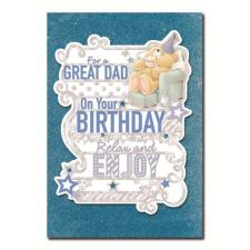 Great Dad Forever Friends Birthday Card