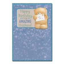 Husband Birthday Forever Friends Card