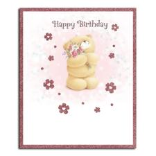 Happy Birthday Flowers Forever Friends Card