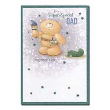 Super-special Dad Forever Friends Father's Day Card
