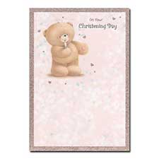 Christening Day Forever Friends Christening Card
