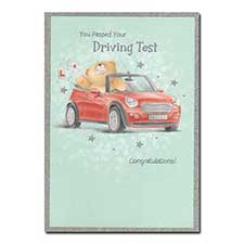 Congratulations on Passing Driving Test Forever Friends Card