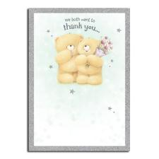 Thank You From Both Forever Friends Card