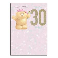 30th Birthday Forever Friends Card