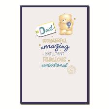 Wonderful Amazing Dad Forever Friends Card