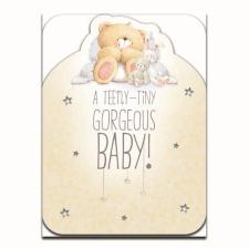 Gorgeous New Baby Large Forever Friends Card
