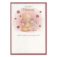 Wonderful Nanna Forever Friends Mothers Day Card