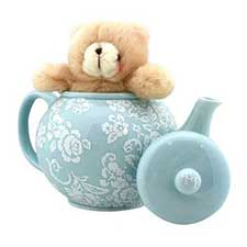 Time for Tea Forever Friends Teapot and Bear Set