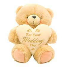 "10"" Wedding Wishes Forever Friends Bear"