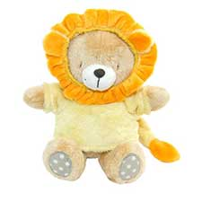 "8"" Baby Forever Friends Bear in Lion Outfit"