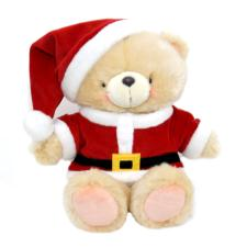 "10"" Forever Friends Santa Bear"