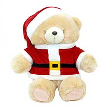 "32"" Santa Forever Friends Bear"