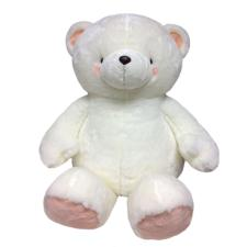 "32"" White Forever Friends Bear"
