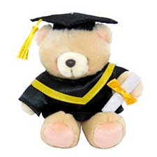 "6"" Graduation Forever Friends Bear"