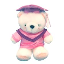 "6"" Pink Graduation Forever Friends Bear"