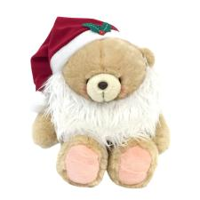"16"" Dressed As Santa Bear"
