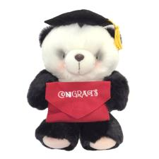 "10"" Congratulations Graduation Forever Friends Panda Bear"