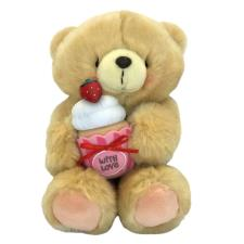 "10"" Strawberry Cupcake Forever Friends Bear"