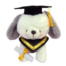 "10"" Graduation Forever Friends Puppy"