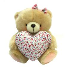 "10"" Spring Patterned Heart Forever Friends Bear"