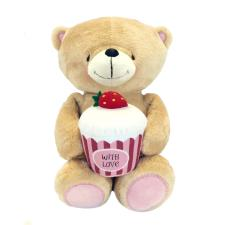 "10"" Bear With Strawberry Cupcake Forever Friends Bear"