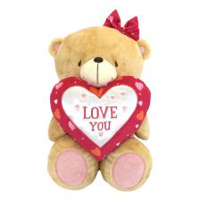"16"" Bear With Love You Heart Forever Friends Bear"