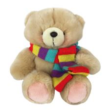 "10"" Striped Coloured Scarf Forever Friends Bear"