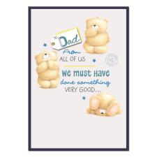 Dad From All Of Us Forever Friends Fathers Day Card