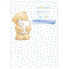 Grandson Communion Forever Friends Card