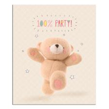 100 Percent Party Forever Friends Card