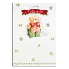 Granddaughter Forever Friends Christmas Card