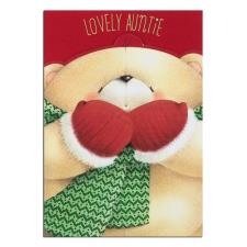 Lovely Auntie Forever Friends Christmas Card
