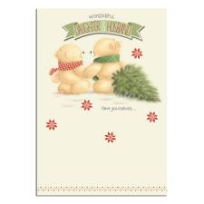 Daughter & Husband Forever Friends Christmas Card