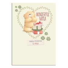 Wonderful Nana Forever Friends Christmas Card