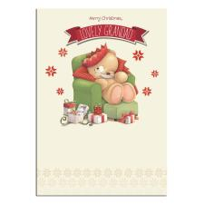 Lovely Grandad Forever Friends Christmas Card