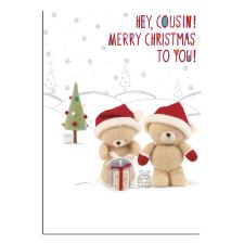 Cousin Forever Friends Christmas Card
