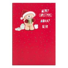 Mummy Bear Forever Friends Christmas Card