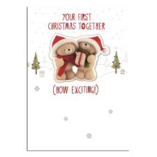 Your First Christmas Together Forever Friends Christmas Card