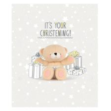 Its Your Christening Forever Friends Card