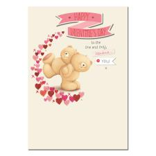 Happy Valentines Day Fabulous You Forever Friends Card
