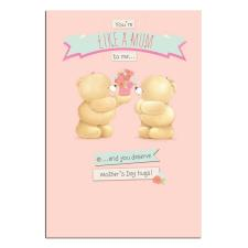 Like A Mum Forever Friends Mothers Day Card